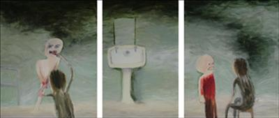 Show me your teeth (Triptych)