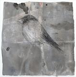 Songbird  X by Alice Leach, Painting, Mixed Media on paper