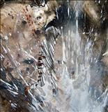 Splash by Alice Leach, Painting, Mixed Media on paper