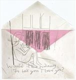 Would it be ordinary to tell you I love you? by Alice Leach, Artist Print